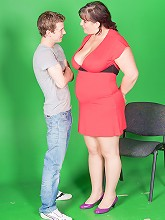 Video guy cheats with hot BBW model and gets caught red-handed by his wife_30