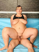 Final sex round after exciting BBW wrestling match_30